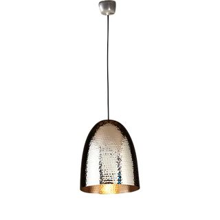 Dolce Beaten Silver Hanging Lamp