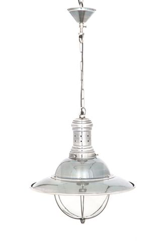 Harrison Hanging Lamp in Silver
