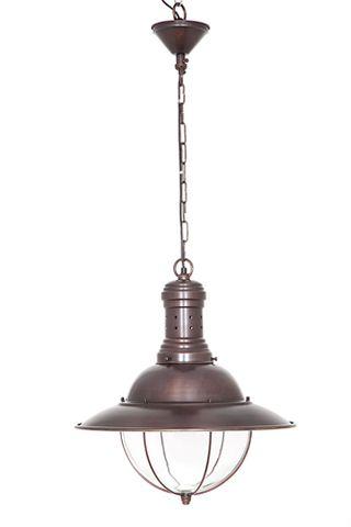 Harrison Hanging Lamp in bronze