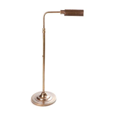 Brooklyn Floor Lamp Antique Brass