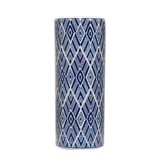 Aztec Vase Large Blue