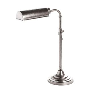 Brooklyn Desk Lamp Antique Silver