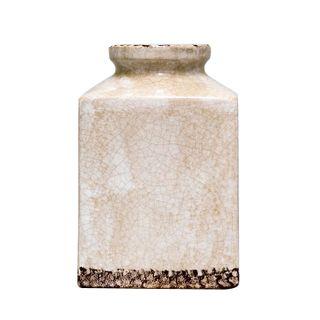 Blanc Square Vase Sml