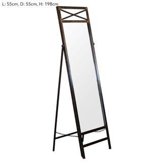 Indiana Standing Mirror 60x56x191L:60 W: