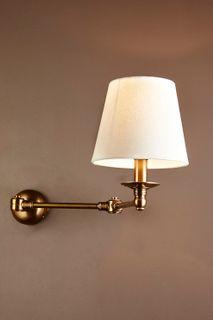 Portland Wall Light Base Brass