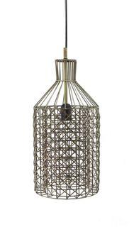 St Regis Hanging Lamp In Antique Brass