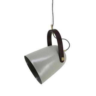 Kingston Hanging Lamp In Grey