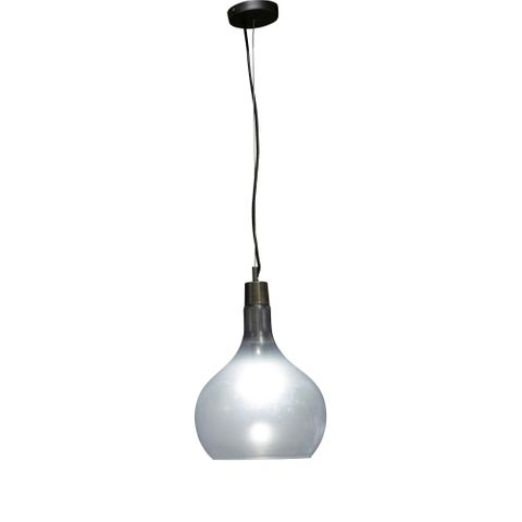 Oakmont Glass Hanging Lamp In Grey