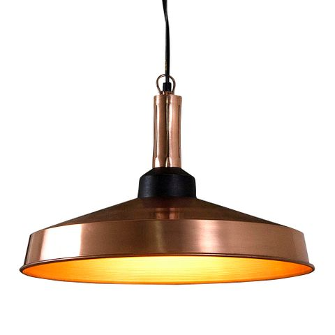 Jefferson Hanging Lamp in Copper
