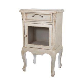 Alsace Bedside Cabinet Ivory