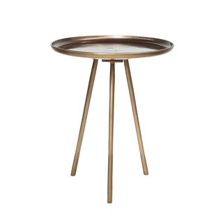 Jagger side table in brass