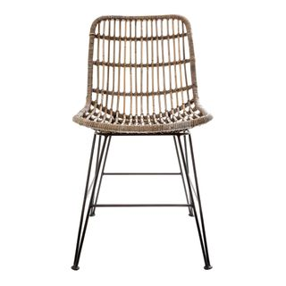 Seville Rattan Dining Chair Natural