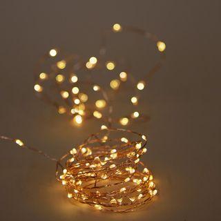 Fairy Lights 5M BO Copper Wire