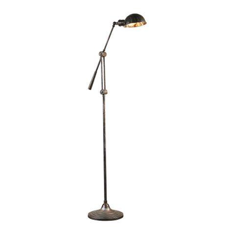 Calais Floor Lamp Antique Silver