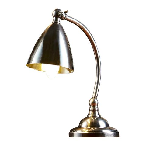 Brentwood Desk Lamp Antique Silver