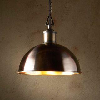 Essen Small - bronze - Domed Solid bronze Pendant Light