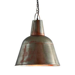 Koln - Zinc/Copper - Tall Iron Dome Pendant Light