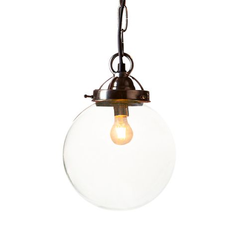 Celeste Small Hanging Lamp Ant.Silver