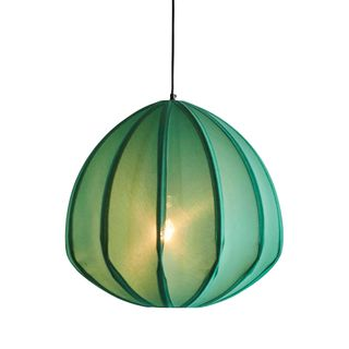 Urchin Large - Jade Green - Cotton Lantern Pendant Light