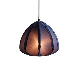 Urchin - Blue - Cotton Lantern Pendant Light