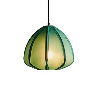 Urchin - Jade Green - Cotton Lantern Pendant Light