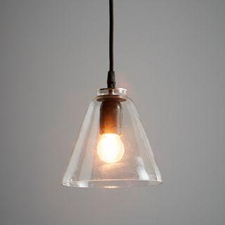 Cono - Clear - Glass Cone Pendant Light