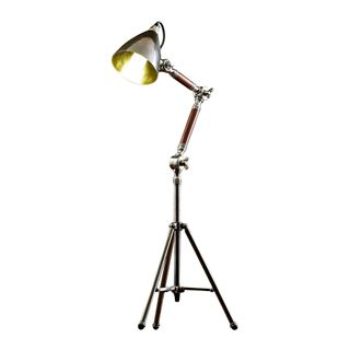 Dolby Tripod Desk Lamp Antique Silver