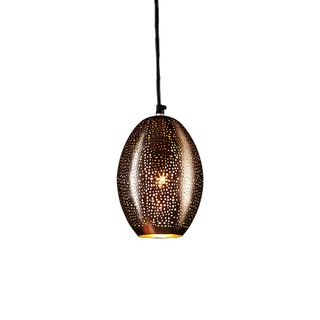 Stella - Black - Perforated Balloon Pendant Light