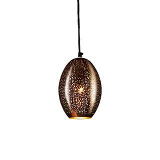 Stella - Black - Perforated Balloon Pendant Light