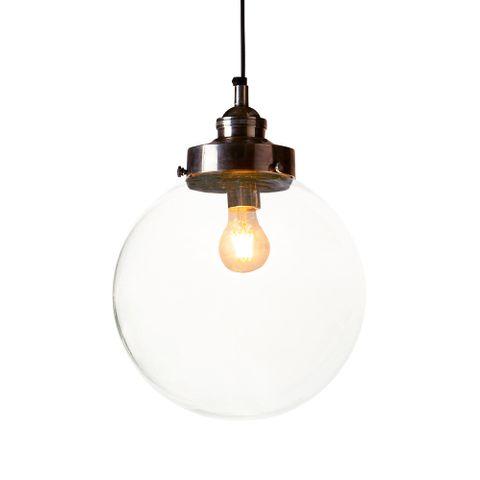 Celeste Medium Hanging Lamp in Silver