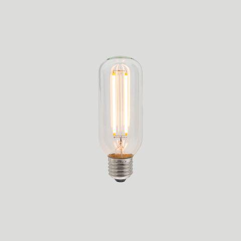 T45 Long LED Filament - Clear Glass - 4W E27 2200k