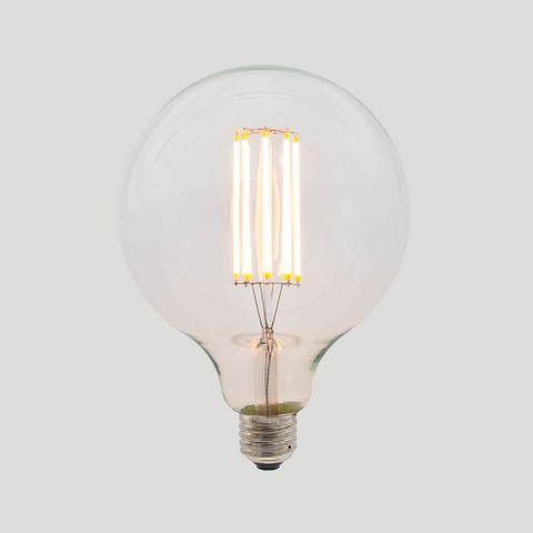 G125 Long LED Filament - Clear Glass - 8W E27 2200k