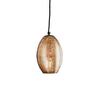 Stella - Nickel - Perforated Balloon Pendant Light