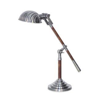 Hartford Desk Lamp Antique Silver