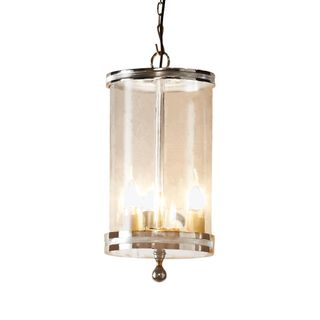 Carnaby Glass Hanging Lamp in Nickel