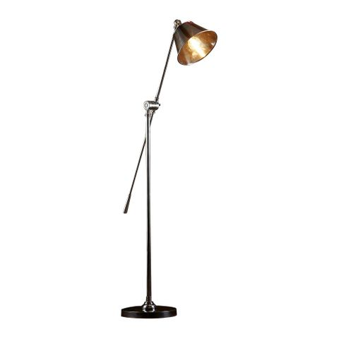 Winslow Floor Lamp Antique Silver
