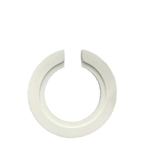 Universal Lamp Shade Adaptor Ring - White - Converts E27 Fixture to B22/E14/B15 Fixture