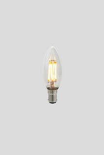 C35 Candle LED Filament - Clear Glass - 3W B15 2200k