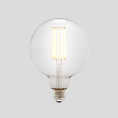 G125 Long LED Filament - Clear Glass - 10W E27 3000k