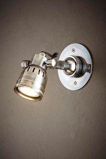 Seattle Short Arm Wall Light Silver
