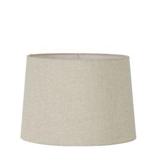 Linen Drum Lamp Shade Large Light Natural