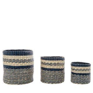 Playa Zane Basket Set of 3