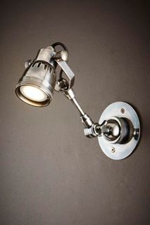Seattle Long Arm Wall Light Silver