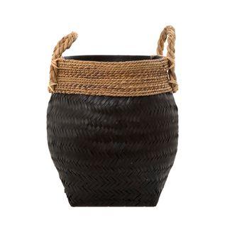Mauritius Basket Black