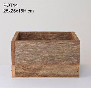 Timber Box 25x25x15