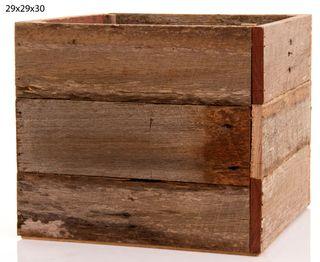 Timber Box 29x29x30 (L)