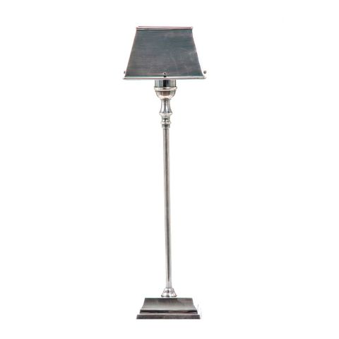 Collin Table Lamp W/Metal Shade Silver