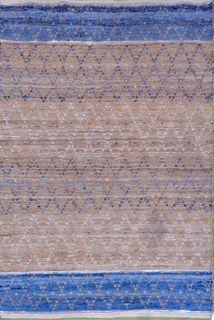 Norman Blue Natural Rug