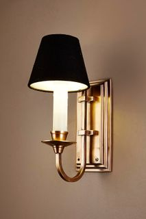 East Borne Sconce Base Antique Brass