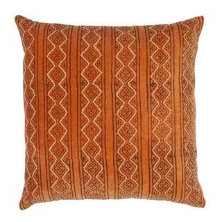 Anjar Velvet Cushion Burnt Orange